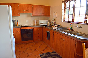 Fully equipped kitchens at Kairod Home self catering accommodation in Middelburg