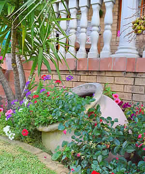 Kairos  Home Self Catering and B&B accommodation in Middelburg has a relaxed and peaceful atmosphere